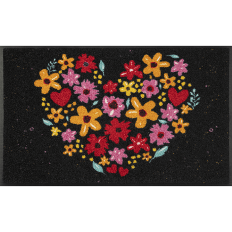 Ковер Цветочное Сердце