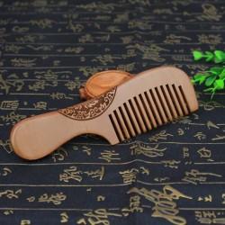 Бамбуковый гребешок с рукояткой